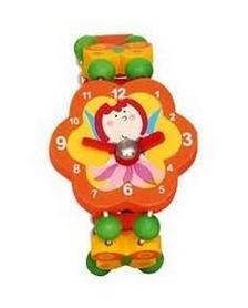 """Часы-пазлы Bino """"Фея"""" 9086040 оранжевые"""