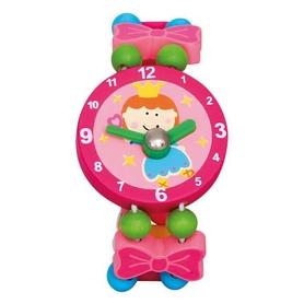 """Часы-пазлы Bino """"Фея"""" 9086042 красный"""