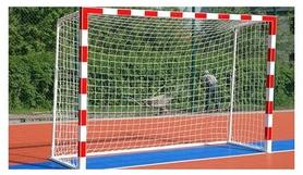 Ворота футбольные с полосами SS00007