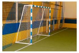 Ворота футбольные с полосами SS00358
