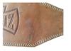 Пояс тяжелоатлетический кожаный ZEL ZB-01016-6 - L - Уцененный* - фото 2