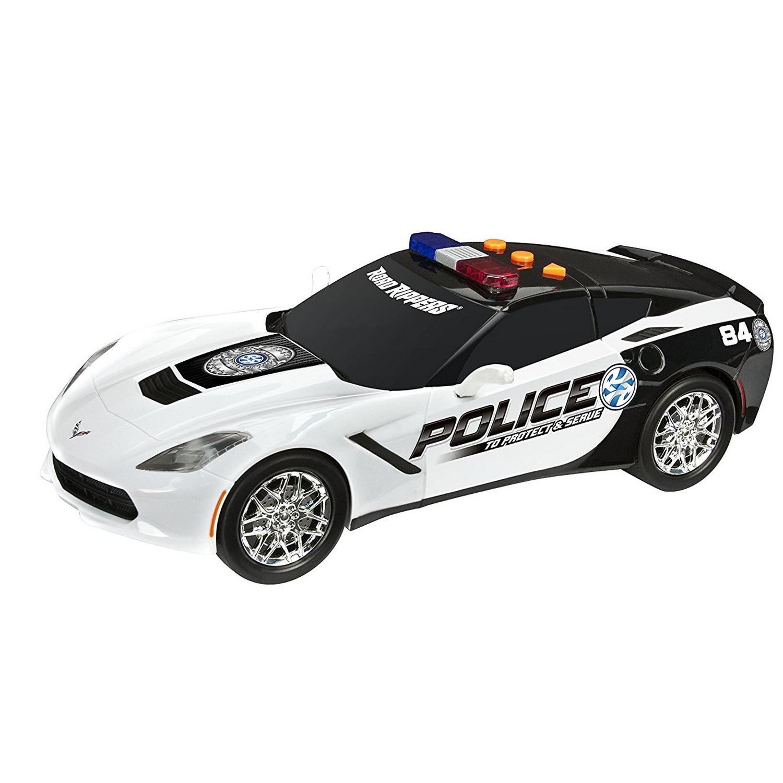 "Машинка полицейская Toy State ""Chevy Corvette C7 Protect&Serve"", 27 см"