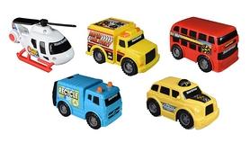 Мини-техника Toy State Городской транспорт 5 шт в наборе