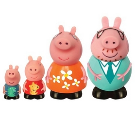 Набор игрушек-брызгунчиков Peppa Pig Семья Пеппы