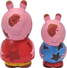 Набор игрушек-брызгунчиков Peppa Чистюля или Грязнуля