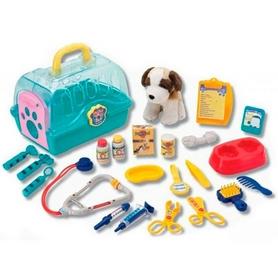 Набор игровой со щенком Keenway Юный ветеринар