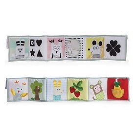 Книжка-раскладушка развивающая Taf Toys Мышки-Мартышки