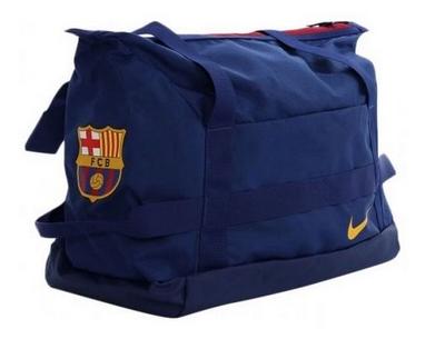 afa227015058 Сумка спортивная Nike NK Stadium Fcb Duff синяя BA5421-485 40 л ...