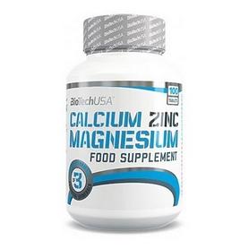 Комплекс минералов Biotech Calcium Magnesium Zinc (100 таблеток)