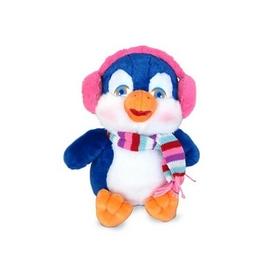 Игрушка мягкая Lava Пингвин в наушниках музыкальный 23 см