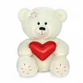 Игрушка мягкая Lava Медвежонок Масик с сердцем 17 см