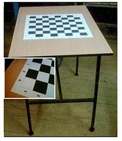Стол шахматный складной