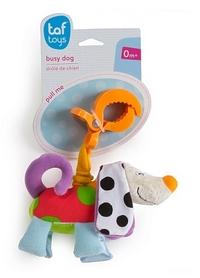 Игрушка-подвеска на прищепке Taf Toys Дрожащий Песик, белая