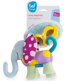 Игрушка-подвеска на прищепке Taf Toys Дрожащий слоник, голубая