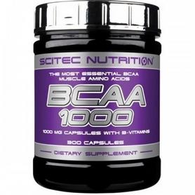 Аминокомплекс Scitec Nutrition Bcaa 1000 (100 капсул)