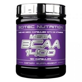 Аминокомплекс Scitec Nutrition Mega Bсаа 1400 (180 капсул)