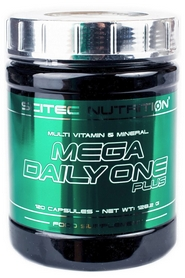 Комплекс витаминов и минералов Scitec Nutrition Mega Daily One PLus (120 капсул)