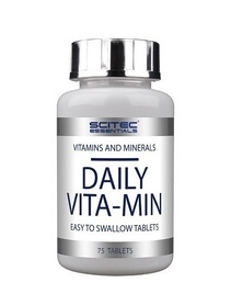 Фото 1 к товару Комплекс витаминов и минералов Scitec Nutrition Scitec Essentials Daily Vita-min (75 таблеток)