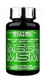 Комплекс для суставов и связок Scitec Nutrition Mega Msm (100 капсул)