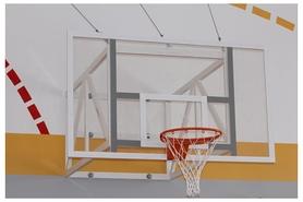 Ферма баскетбольная фиксированная, вынос до 1200 мм ФИБА, SS00064