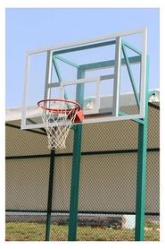 Стойка баскетбольная стационарная (уличная), две опоры вынос до 600 мм, SS00072