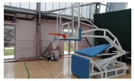 Стойка баскетбольная мобильная, вынос 2500 мм, SS00367