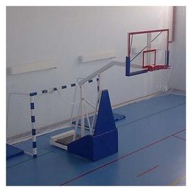 Стойка баскетбольная мобильная, вынос 1600 мм, SS00077