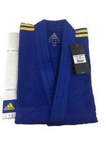 Фото 2 к товару Кимоно для дзюдо Adidas Judo Uniform Club синее