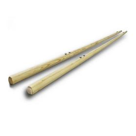 Жерди деревянные для брусьев мужских гимнастических
