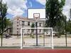 Стойка баскетбольная стационарная (уличная), одна опора вынос до 1200 мм, SS00433 - фото 1