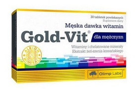 Витамины Olimp Labs Gold-Vit for men (30 таблеток)