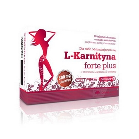Жиросжигатель Olimp Labs L-carnitine 500 Forte Plus (80 капсул)
