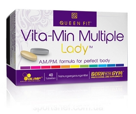 Витамины Olimp Labs Vita-min Multiple Lady (40 таблеток)