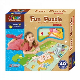 Пазлы Bino Clever Hands Fun Puzzle