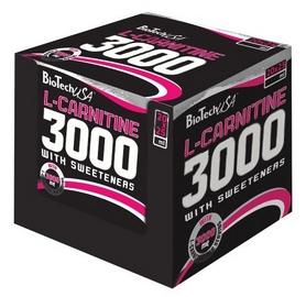Жиросжигатель BioTech L-carnitine 3000 мг 20x25 мл