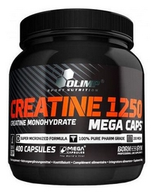 Креатин Olimp Labs Creatine Mega Caps 1250 (400 капсул)