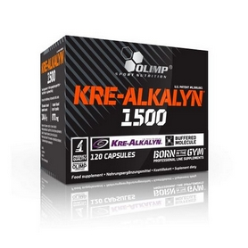 Креатин Olimp Labs Kre-alkalyn 1500 mg (120 капсул)