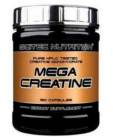 Креатин Scitec Nutrition Mega Creatine (150 капсул)