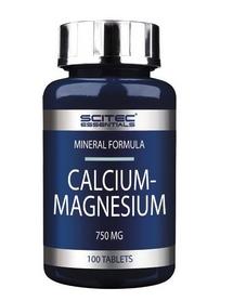 Спецпрепарат (послетренеровочный) Scitec Nutrition Scitec Essentials Calcium-magnesium (100 таб)