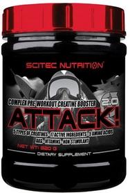 Спецпрепарат (предтренеровочный) Scitec Nutrition Attack 2 (320 г)