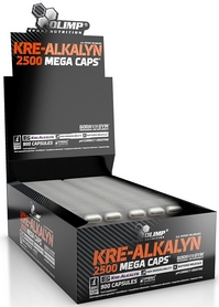 Креатин Olimp Labs Kre-alkalyn Mega Caps 2500 mg (30 капсул)
