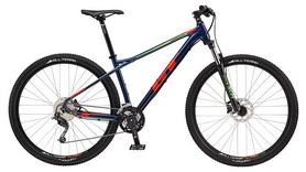 """Велосипед горный GT Karakoram Comp 29"""" 2017 синий, рама - L"""