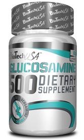 Добавка для суставов и связок BioTech Glucosamine 500 60 капсул