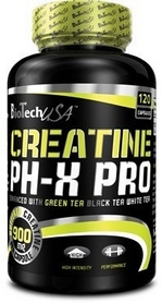 Креатин BioTech Creatine Phx Pro 120 капсул