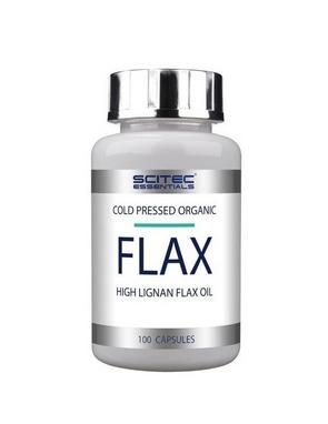 Комплекс жирных кислот Scitec Nutrition Essentials Flax (100 капсул)