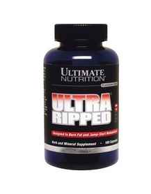 Жиросжигатель Ultimate nutrition Ultra Ripped Ephedra Free (180 капсул)