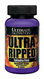 Жиросжигатель Ultimate nutrition Ultra Ripped Ephedra Free (90 капсул)