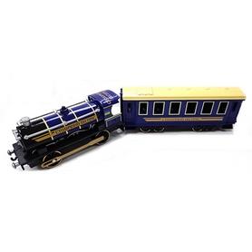 Модель Технопарк Паровоз с вагоном