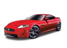 Машинка игрушечная Bburago Jaguar XKR-S (1:24) красный