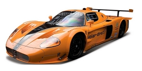 Машинка игрушечная Bburago Maserati MC12 (1:24) оранжевая